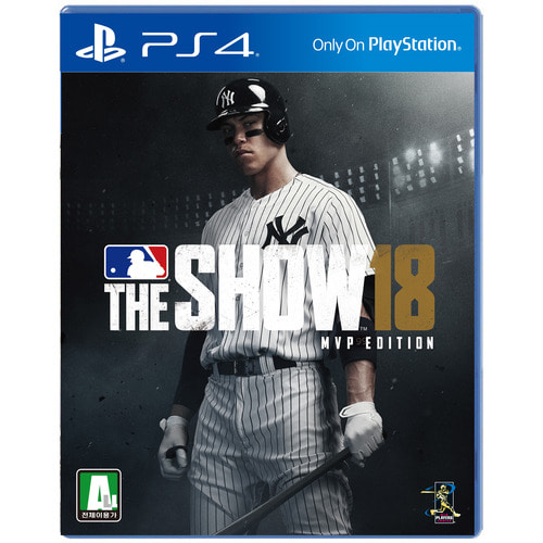 PS4 MLB THE SHOW 18 MVP 에디션 선주문 / MLB18 더쇼18