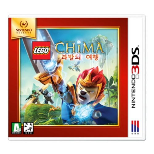 [3DS] LEGO The legends of Chima: 라발의 여행(Nintedo Selects)