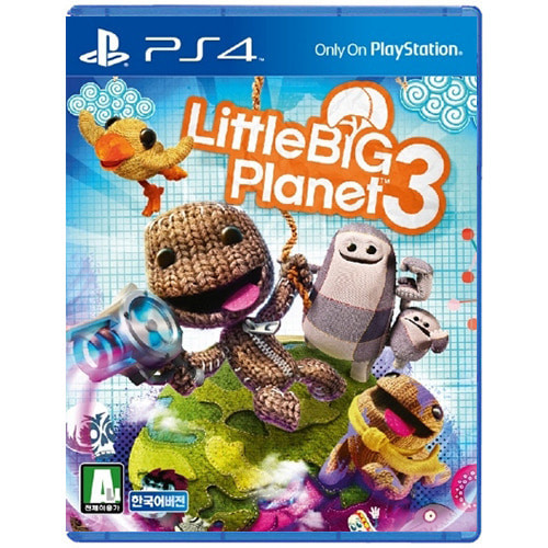 [PS4] 리틀 빅 플래닛3(Little Big Planet 3)