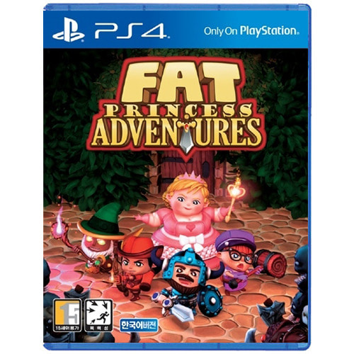 [PS4] Fat Princess Adventures (KR Ver.)