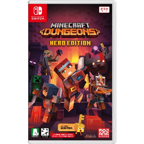 SWITCH Minecraft Dungeons 영웅 에디션